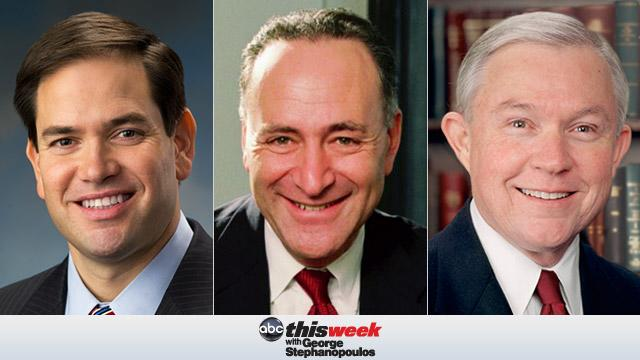 Coming Up on 'This Week': Sen. Marco Rubio, Sen. Charles Schumer, and Sen. Jeff Sessions
