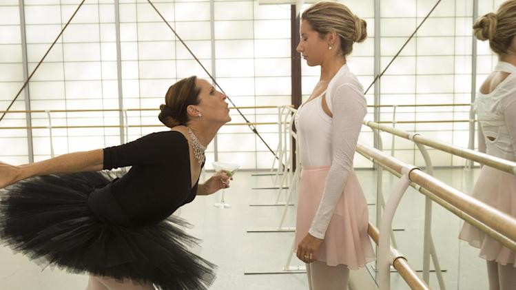 "This film publicity image released by Dimension Films/The Weinstein Co. shows Molly Shannon, left, and Ashley Tisdale in a scene from ""Scary Movie 5."" (AP Photo/Dimension Films/The Weinstein Co., Quantrell D.Colbert)"