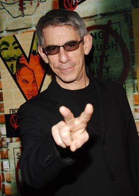 Richard Belzer at the New York premiere of Warner Bros. Pictures' V for Vendetta