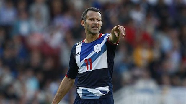 Ryan Giggs, playing for Great Britain