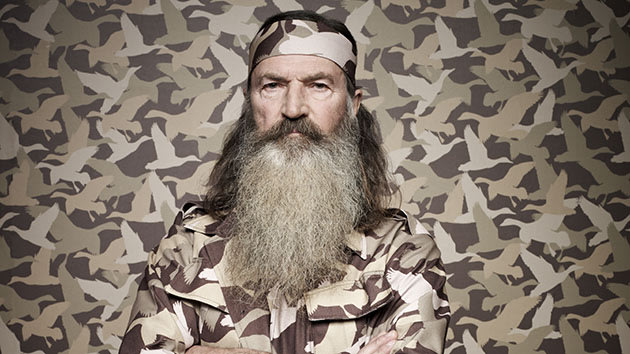 Phil Robertson of the A&E series DUCK DYNASTY