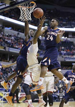 Abrams leads Illinois past Indiana 64-54