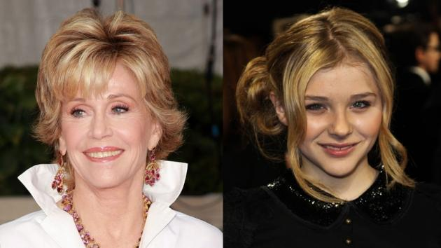 Jane Fonda, Chloe Grace Moretz -- Getty Images