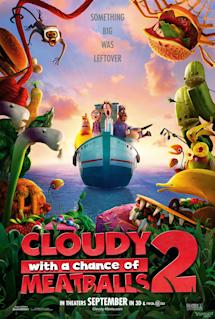 Poster of Cloudy With a Chance of Meatballs 2 in 3D
