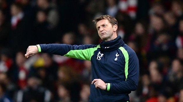 Tim Sherwood defended his team selection against Arsenal