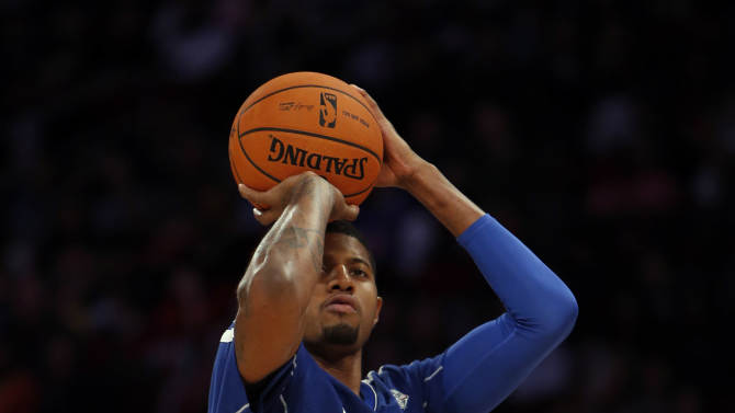 NBA: All Star Game-Three-Point Contest