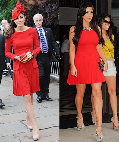 Kate Middleton, Kim Kardashian