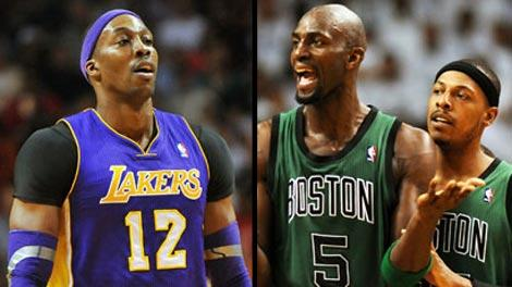 Dwight Howard, Kevin Garnett, Paul Pierce