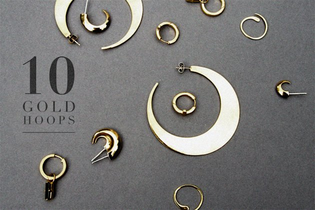 &amp;#39;In Detail&amp;#39; Jewellery Bloggers Reveal The Hottest Gold Hoop Earrings
