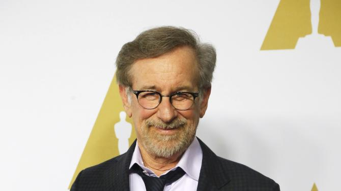 Steven Spielberg arrives at the 88th Academy Awards nominees luncheon in Beverly Hills