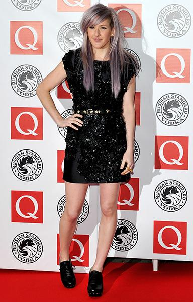 On the red carpet at the Q Awards in 2010