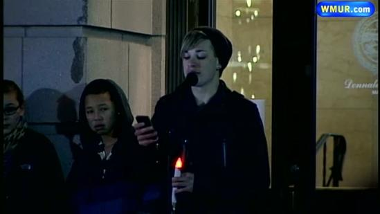 Vigil held in Nashua for CT shooting victims