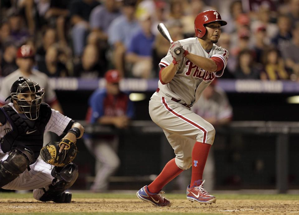 Galvis rallies Phillies for 8-7 win over Rockies
