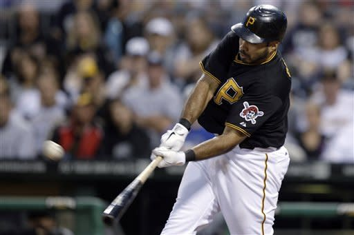 Pirates rally past Marlins 4-3 behind Alvarez