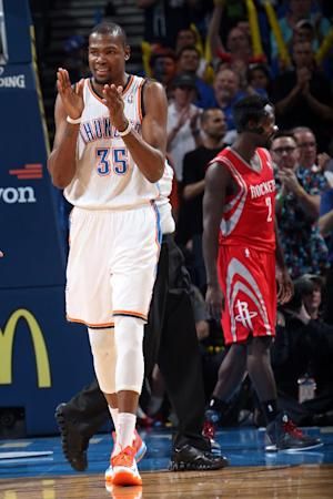 Durant, Westbrook lead Thunder past Rockets