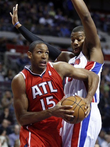 Pistons hold on for 85-84 win over Hawks