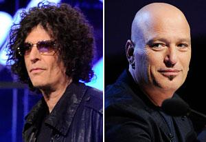 Howard Stern, Howie Mandel | Photo Credits: NBC