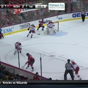 Chris Terry Hit on Troy Brouwer (19:04/1st)