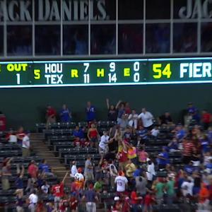 Beltre homers for cycle