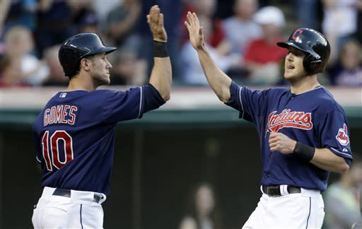 Indians beat Twins on Stubbs' RBI double in 10th