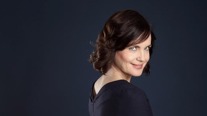 """Actress Elizabeth McGovern, from """"Downton Abbey"""", poses for a portrait during the PBS TCA Press Tour on Saturday, July 21, 2012, in Beverly Hills, Calif. (Photo by Matt Sayles/Invision/AP)"""