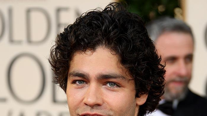 Adrian Grenier arrives at the 66th Annual Golden Globe Awards held at the Beverly Hilton Hotel on January 11, 2009 in Beverly Hills, California.