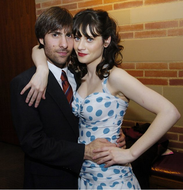 Zooey Deschanel and Jason Schwartzman