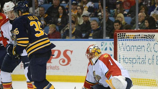 Luongo makes 30 saves, Panthers top Sabres 2-0