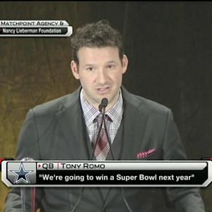 Can the Dallas Cowboys back up quarterback Tony Romo's Super Bowl claim?