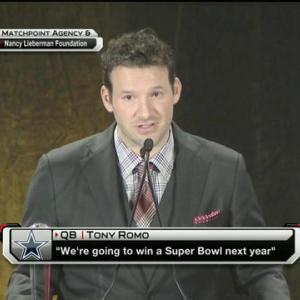 Can the Dallas Cowboys back up quarterback Tony Romo's Super Bowl claim?