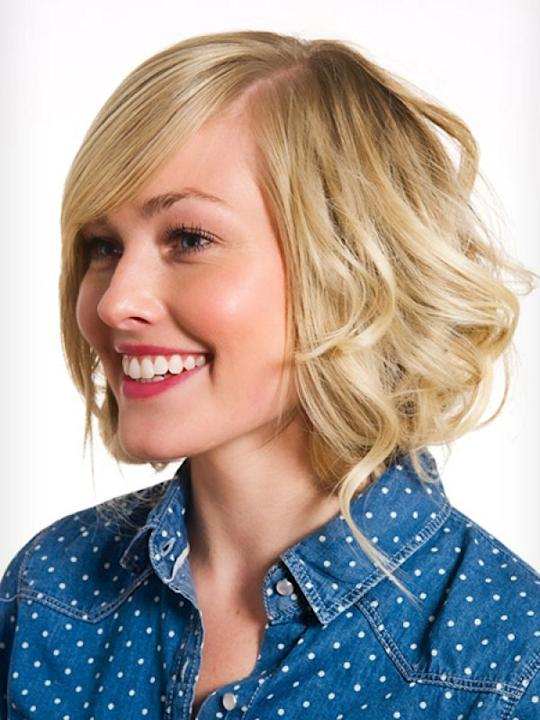 Fake Bob: This one is an all-time favourite once you've discovered it. You can fake a bob now, no matter how long your hair is. It's very simple and easy to do. Bobs make one look so chic. Give a brea
