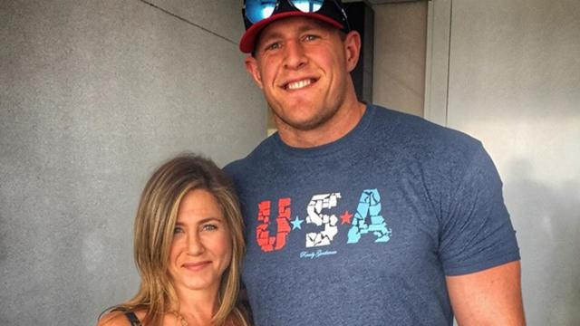 NFL Star J.J. Watt Is 'Heartbroken' Over Jennifer Aniston's Marriage
