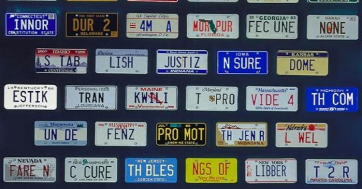 29 Hilarious License Plates
