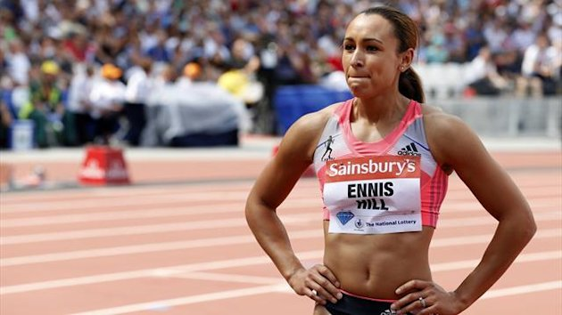 Jessica Ennis-Hill of Great Britain (REUTERS)