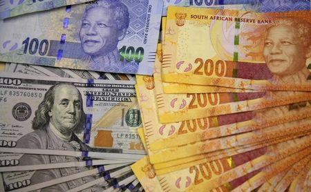 South Africa's rand retreats after strong U.S. GDP data