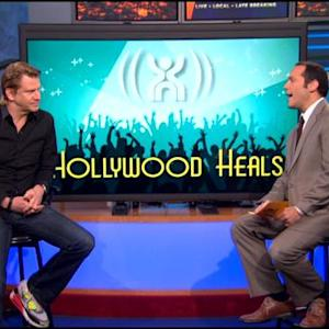 Actor Dash Mihok Discusses 2nd Annual 'Hollywood Heals' Event