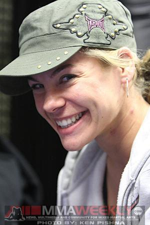 Actor, Stunt Woman, Commentator aka UFC Women's Bantamweight Fighter Julie Kedzie