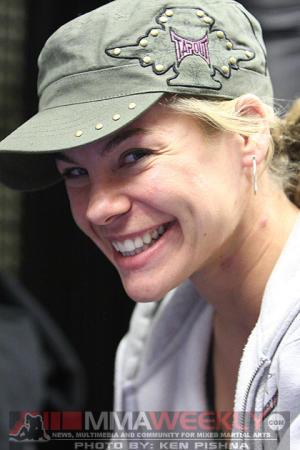 Actor, Stunt Woman, Commentator aka UFC Women's Bantamweight Fighter Julie Kedzie