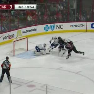 Ben Bishop Save on Eric Staal (01:06/3rd)