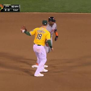Phegley cuts down Cespedes