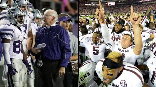 Kansas State and Texas A&M