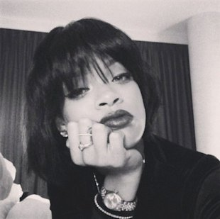 Rihanna's new 'do