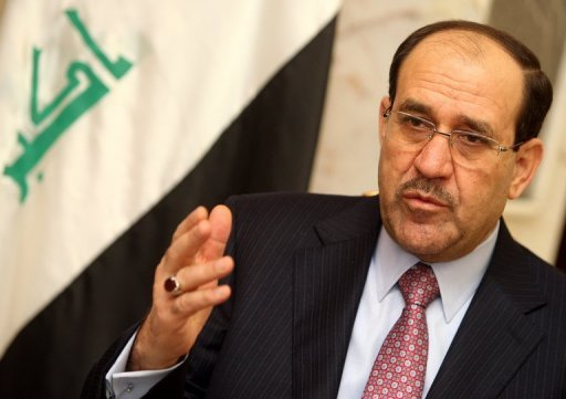 Iraqi Prime Minister Nuri al-Maliki, seen here in 2011, has called for the US to speed up the transfer of weapons to Baghdad, which lacks the ability to defend its airspace or borders, six months after American troops withdrew.