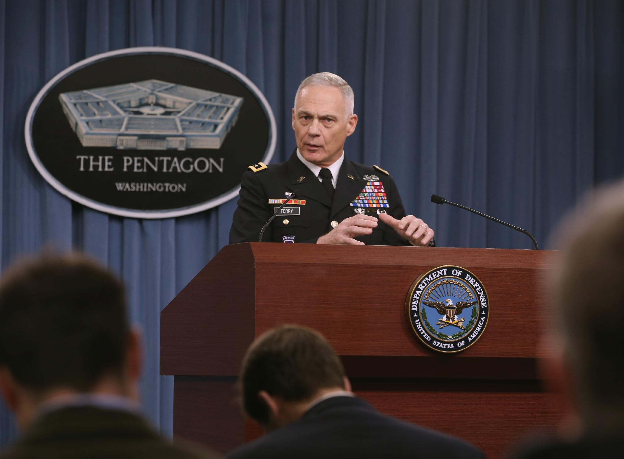 Kurds push back IS in Iraq near Syria border: US general