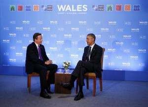 U.S. President Barack Obama meets with British Prime …