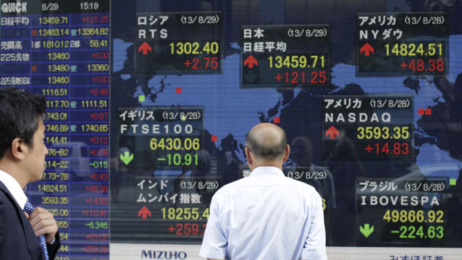Asia stocks subdued as Japan data, Syria weigh