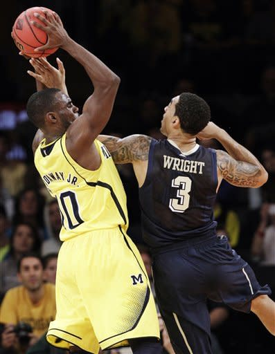 Defense helps No. 4 Michigan get to NIT title game