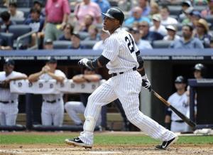 Cano, Granderson homer, lead Yanks over Angels