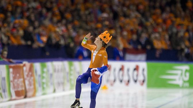 Dutch have it all to dominate the Olympic oval