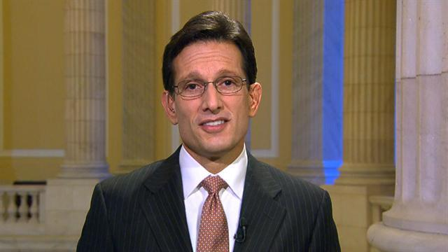 "Cantor: ""Americans just want their lives to work again"""